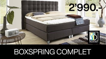 Boxspring complet suédois
